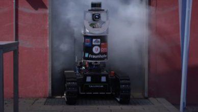 روباتی با حس بویایی که به آتشنشانان کمک خواهد کرد